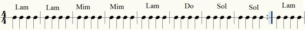 ritmo de guitarra facil para principiante 2 con acordes